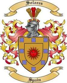 Solares Family Crest