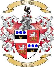 Langley Family Crest