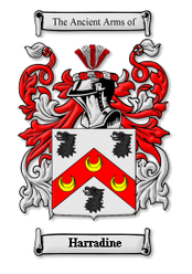 Harradine Family Crest
