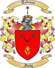 Tedesco Family Crest