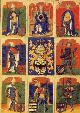 heraldry depicted