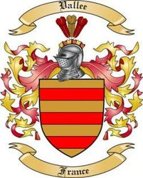 Vallee Family Crest