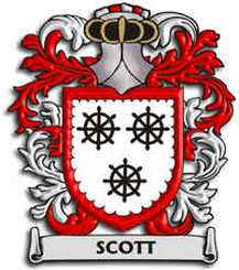 scott crest for England