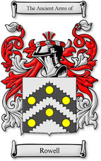 Rowell Family Crest