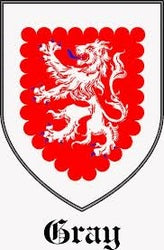 Gray Family Crest scotland