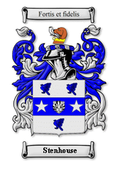 Stenhouse Family Crest