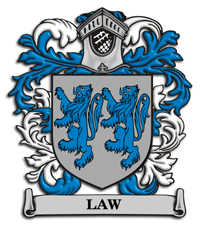 Law Family Crest