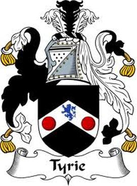Tyrie Family Crest