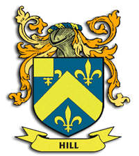 Hill family crest for Ireland