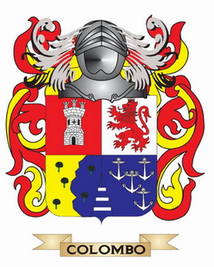 Colombo Family Crest