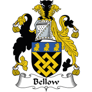 Bellow Family Crest