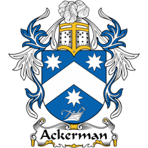 Ackerman Family Crest