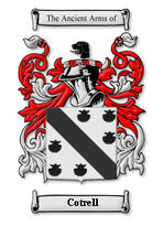 Cotrell Family Crest