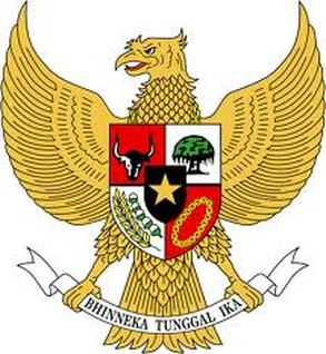 Indonesia National Arms