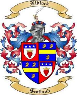 Niblock Family Crest