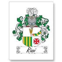 Rizzi Family Crest