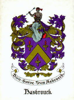 Hasbrouck Family Crest