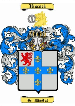 Hiscock Family Crest