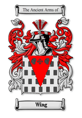 Wing Family Crest