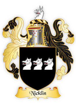 Nicklin Family Crest