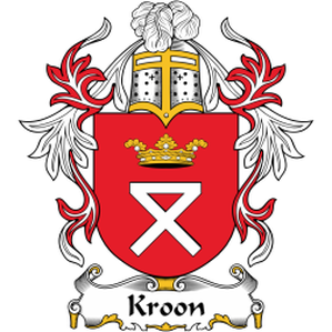 Kroon Family Crest