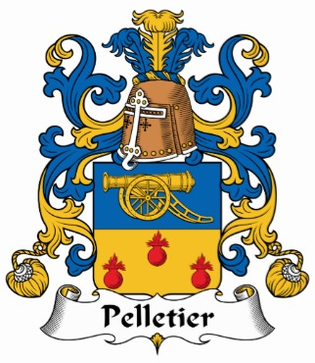 Pelletier Family Crest