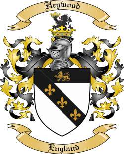 Heywood Family Crest
