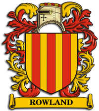 Rowland Family Crest