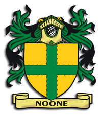 Noone Family Crest