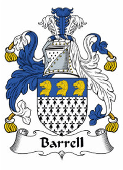Barrell Family Crest