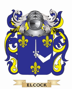 Elcock Family Crest