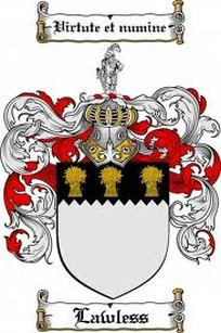Lawless Family Crest