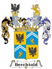 Berchtold Family Crest