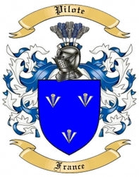 Pilote Family Crest