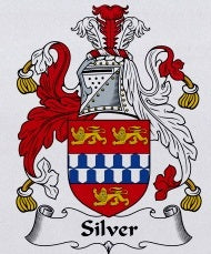 Silver Family Crest