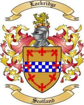 Lockridge Family Crest