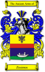 Zissimos Family Crest