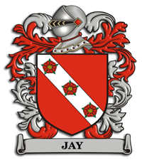 Jay Family Crest