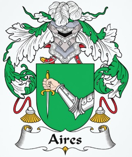 Aires Family Crest