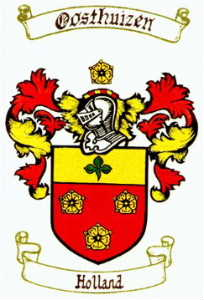 Oosthuizen Family Crest