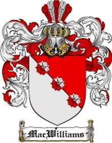 MacWilliams Family Crest