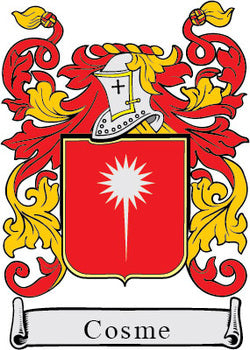 Cosme Family Crest