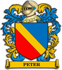 Peter Family Crest