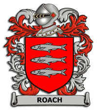 Roach Family Crest
