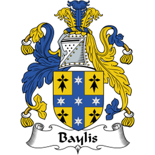 Bayliss Family Crest