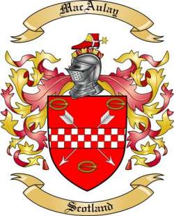 MacAulay Family Crest
