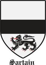 Sartain Family Crest