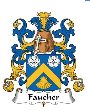 Faucher Family Crest