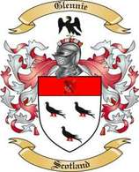 Glennie Family Crest