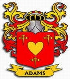 Adams Family Crest Ireland